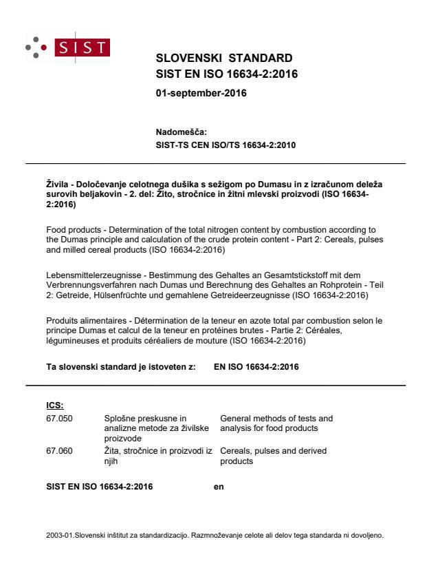SIST EN ISO 16634-2:2016
