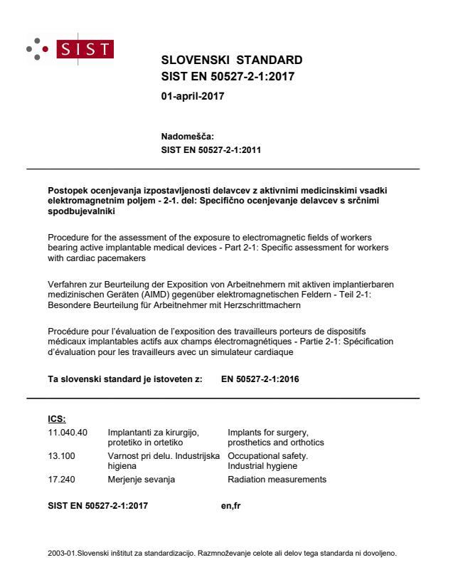SIST EN 50527-2-1:2017 - BARVE