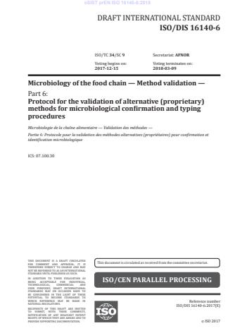 EN ISO 16140-6:2019