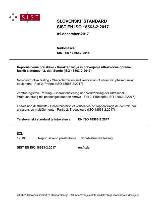 SIST EN ISO 18563-2:2017