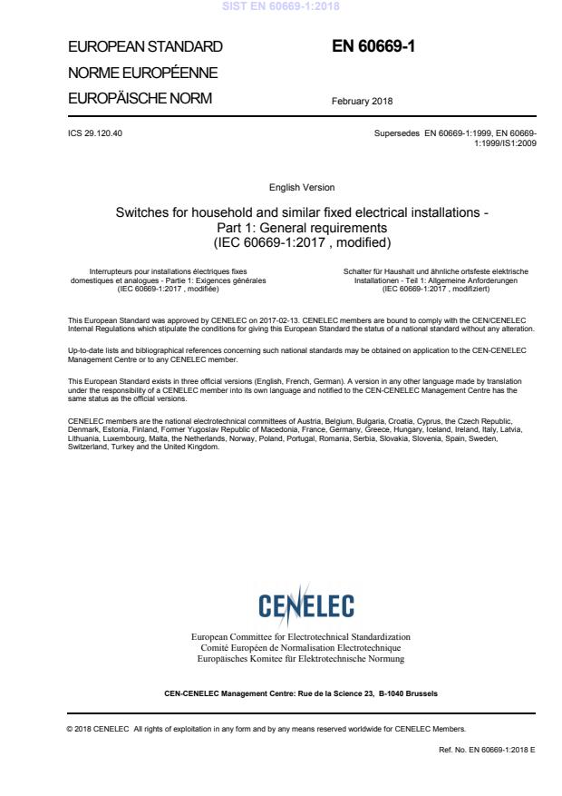SIST EN 60669-1:2018 - BARVE na PDF-str 143,144,145