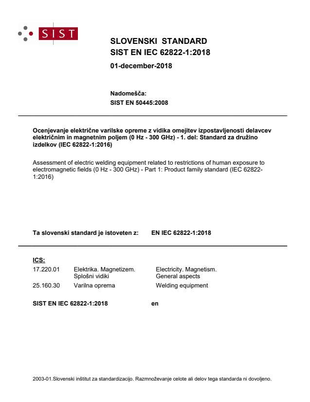 EN IEC 62822-1:2018