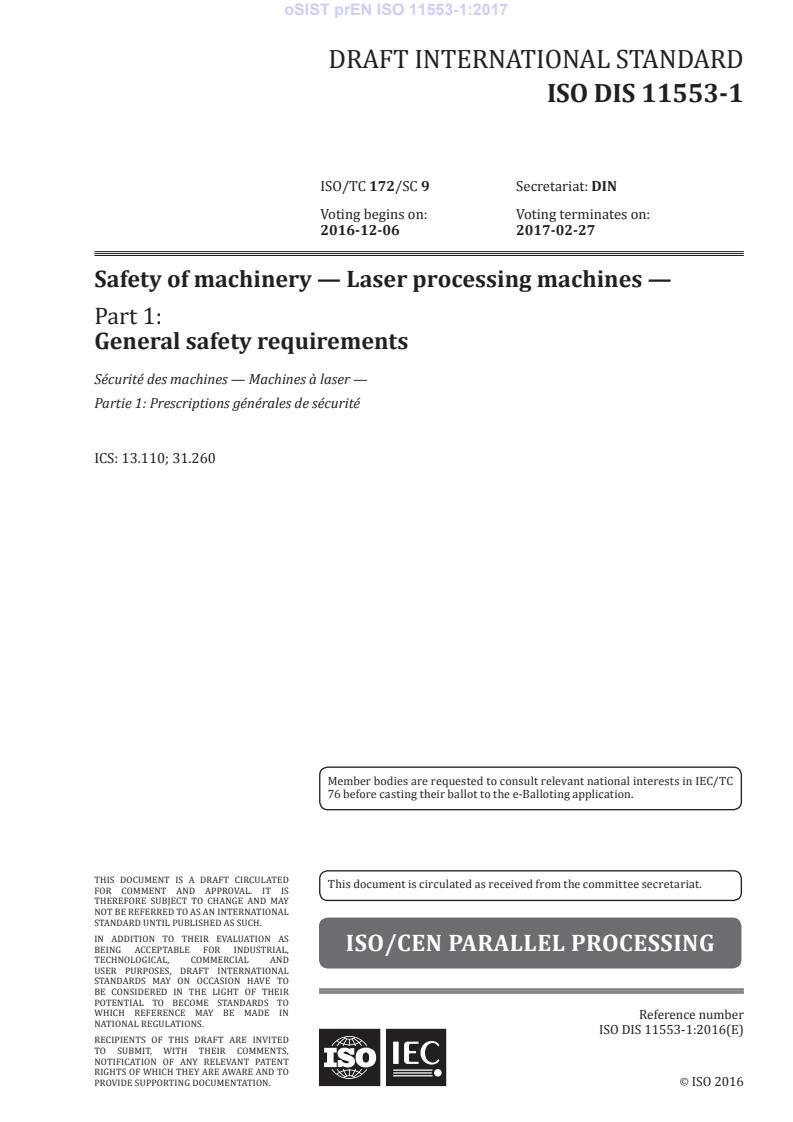 EN ISO 11553-1:2020