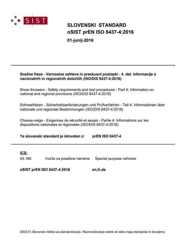 prEN ISO 8437-4:2016