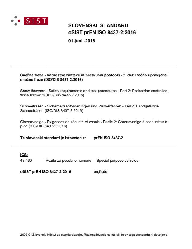 prEN ISO 8437-2:2016 - BARVE na PDF-str 17