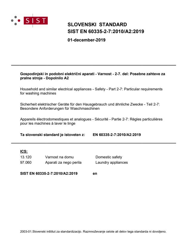 EN 60335-2-7:2010/A2:2019