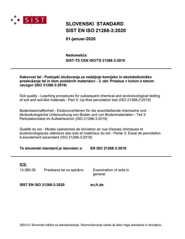 SIST EN ISO 21268-3:2020 - BARVE na PDF-str 28