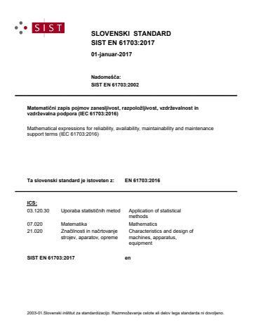 SIST EN 61703:2017 - brez vodnega pretiska (na IEc dokumentu se pretisk prestavi na sredino strani)