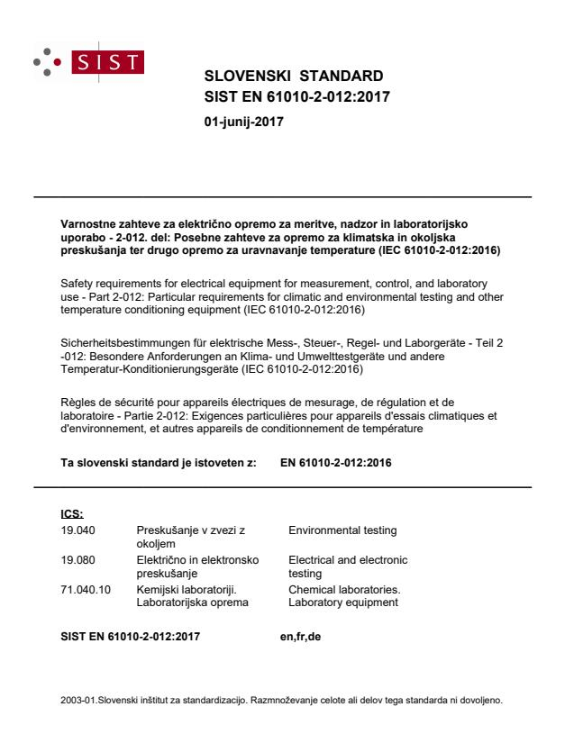 SIST EN 61010-2-012:2017 - BARVE na PDF-str 31