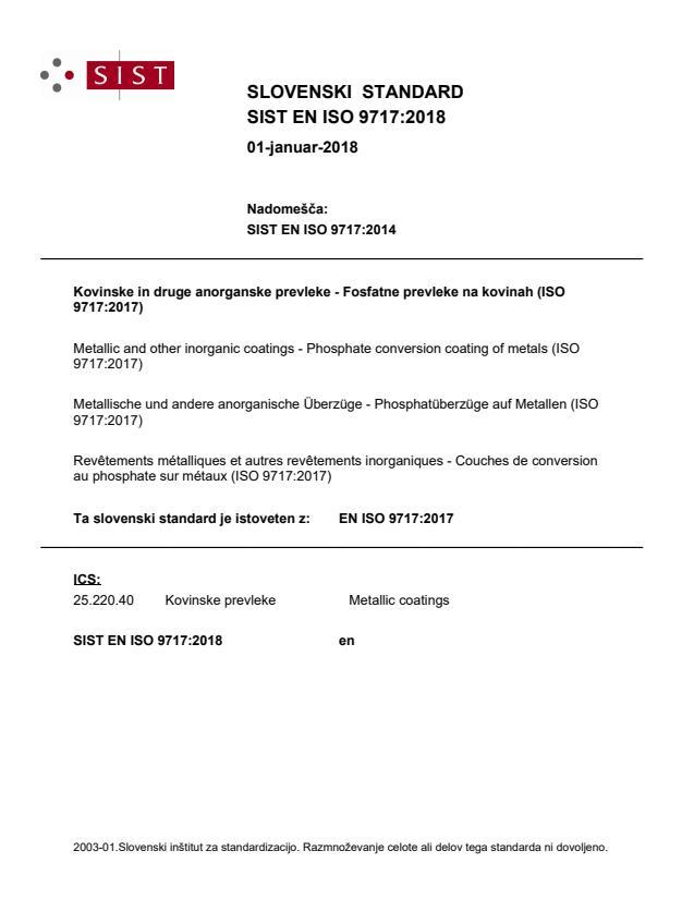 EN ISO 9717:2017