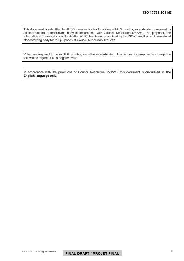 ISO/FDIS 17731