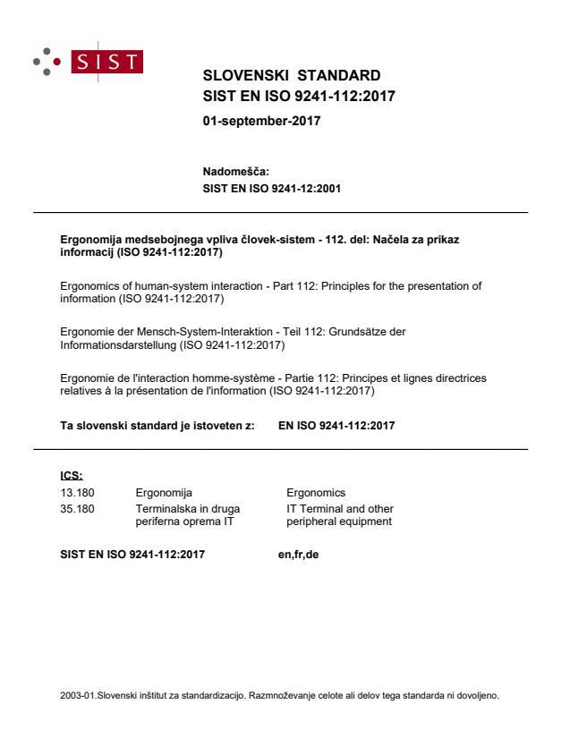 EN ISO 9241-112:2017