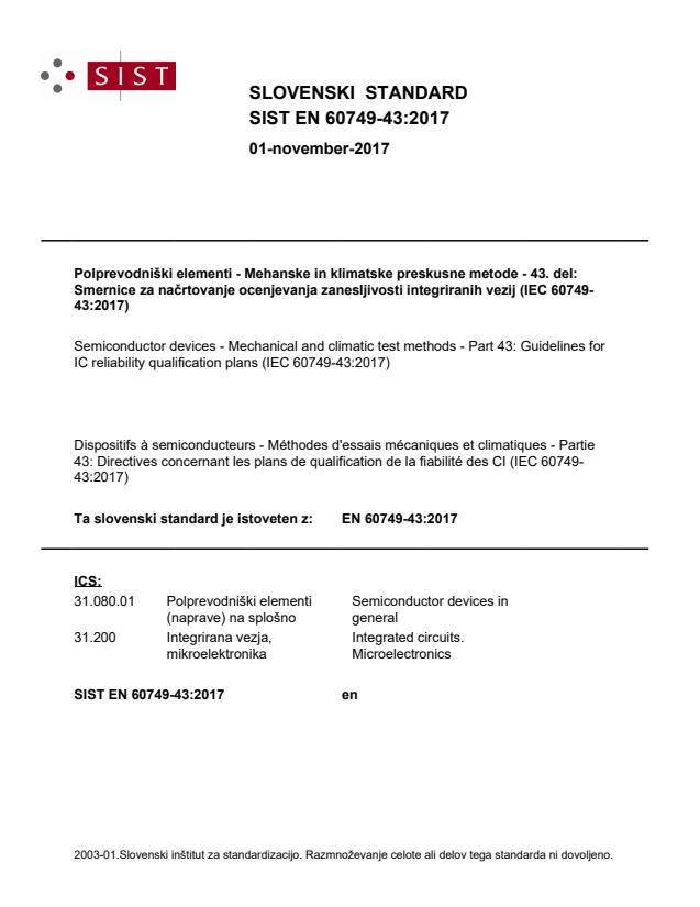 EN 60749-43:2017 - BARVE na PDF-str 16