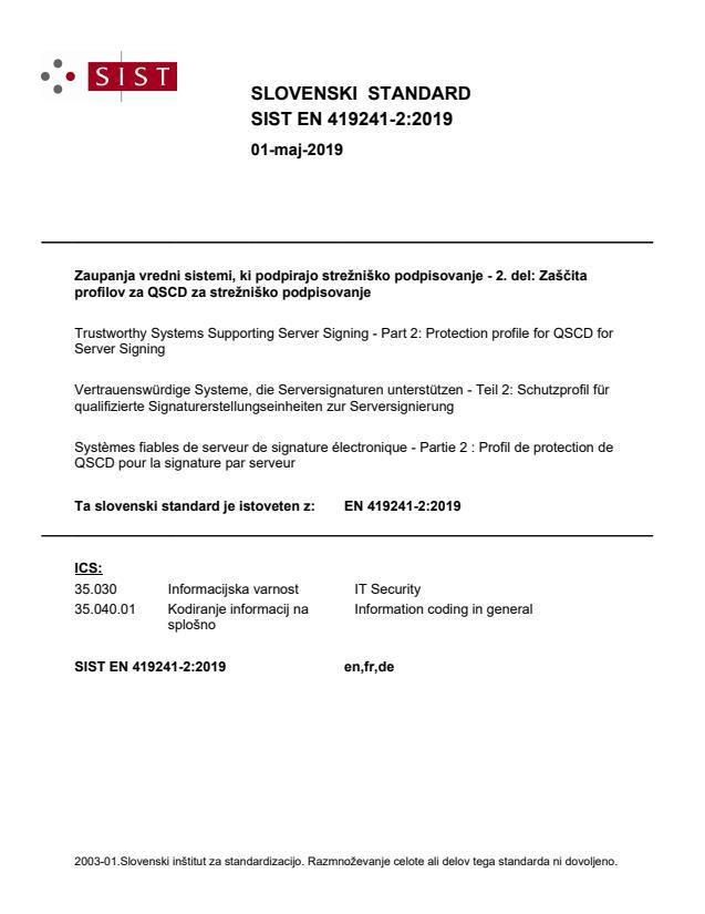 SIST EN 419241-2:2019 - BARVE na PDF-str 11