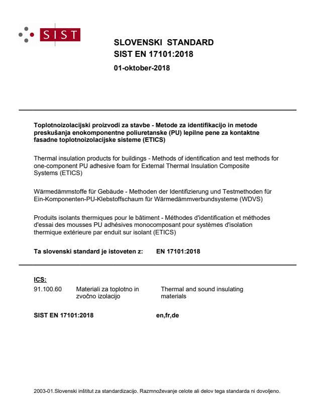 EN 17101:2018 - BARVE na PDF-str 12