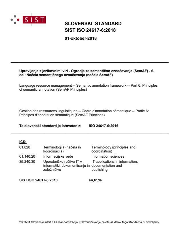 SIST ISO 24617-6:2018