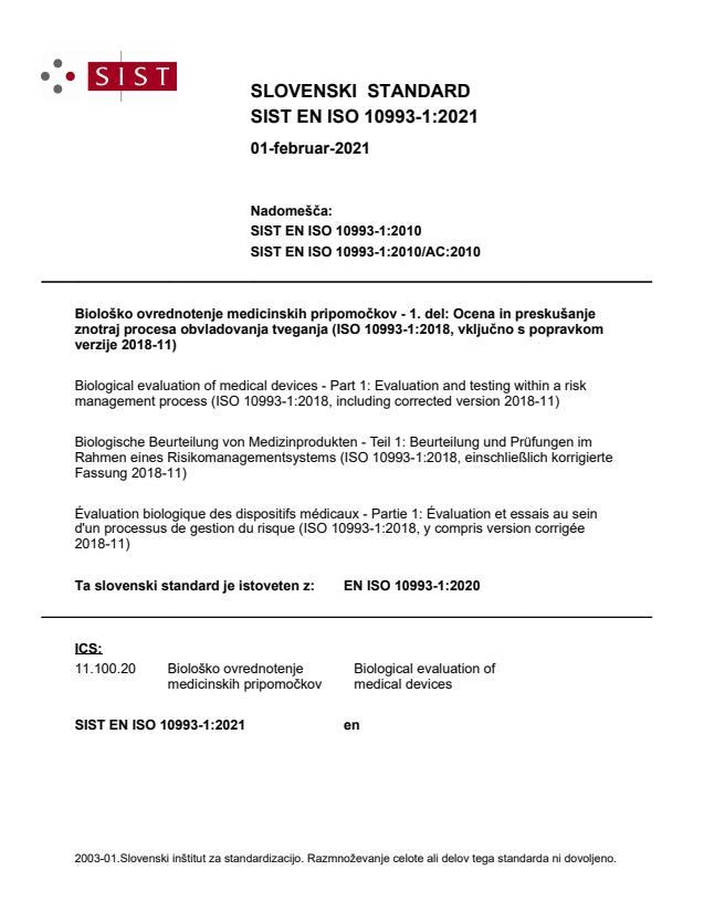 EN ISO 10993-1:2021