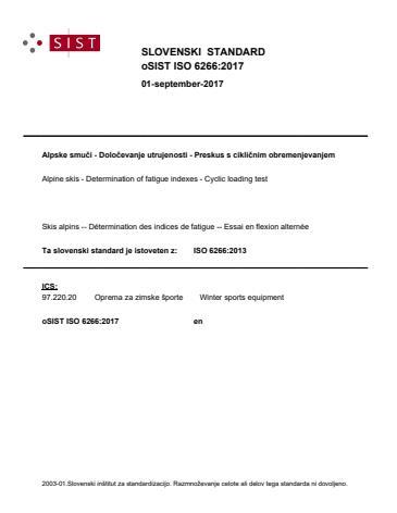oSIST ISO 6266:2017