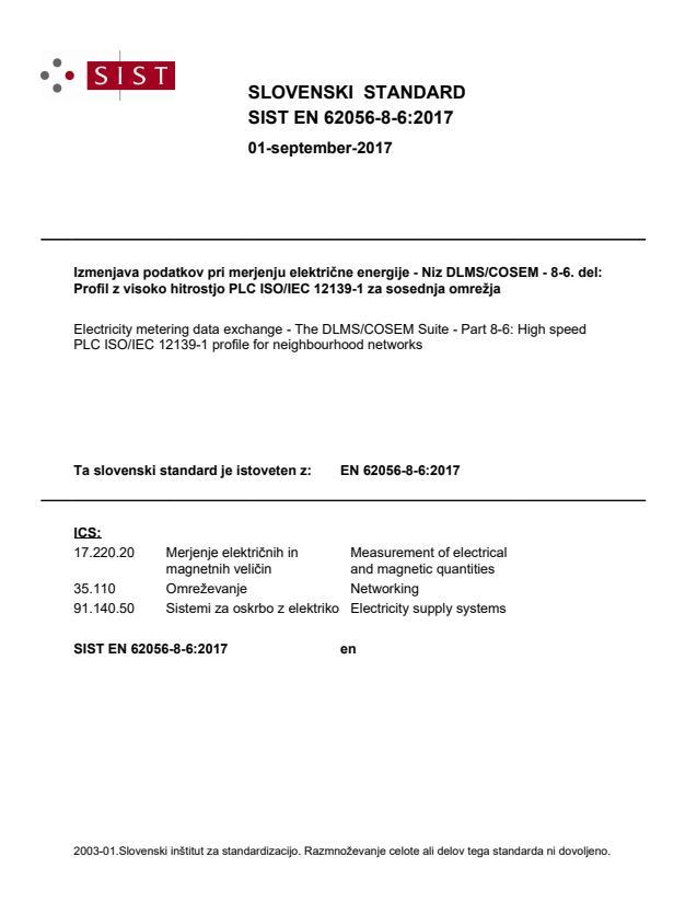 SIST EN 62056-8-6:2017 - BARVE na PDF-str 15,17