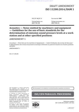 SIST EN ISO 11200:2014/A1:2020