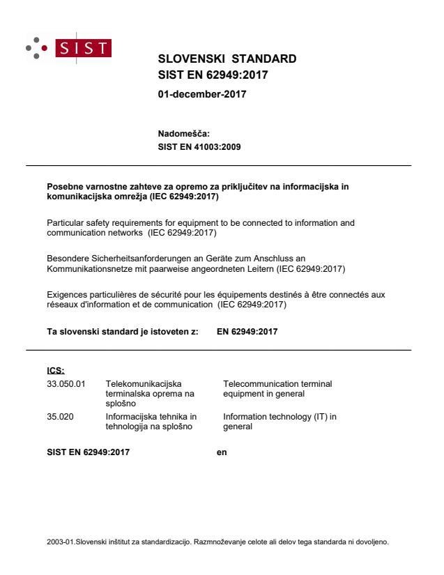 EN 62949:2017 - BARVE na PDF-str 21,30