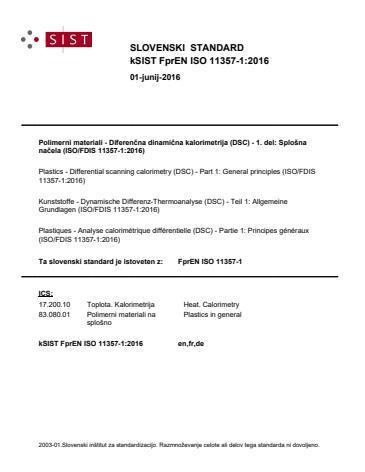 SIST EN ISO 11357-1:2016