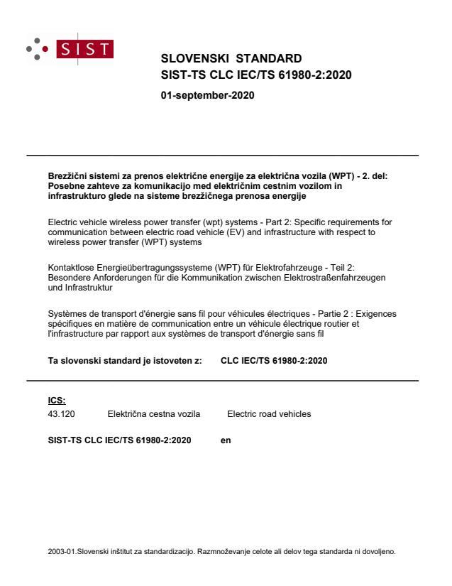 SIST-TS CLC IEC/TS 61980-2:2020 - BARVE na PDF-str 88