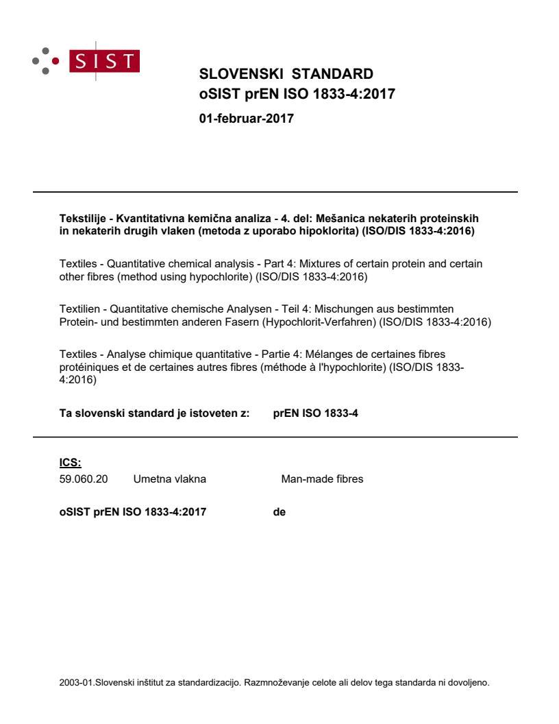 EN ISO 1833-4:2017