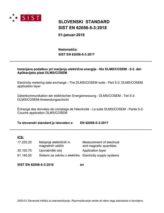 SIST EN 62056-5-3:2018 - BARVE