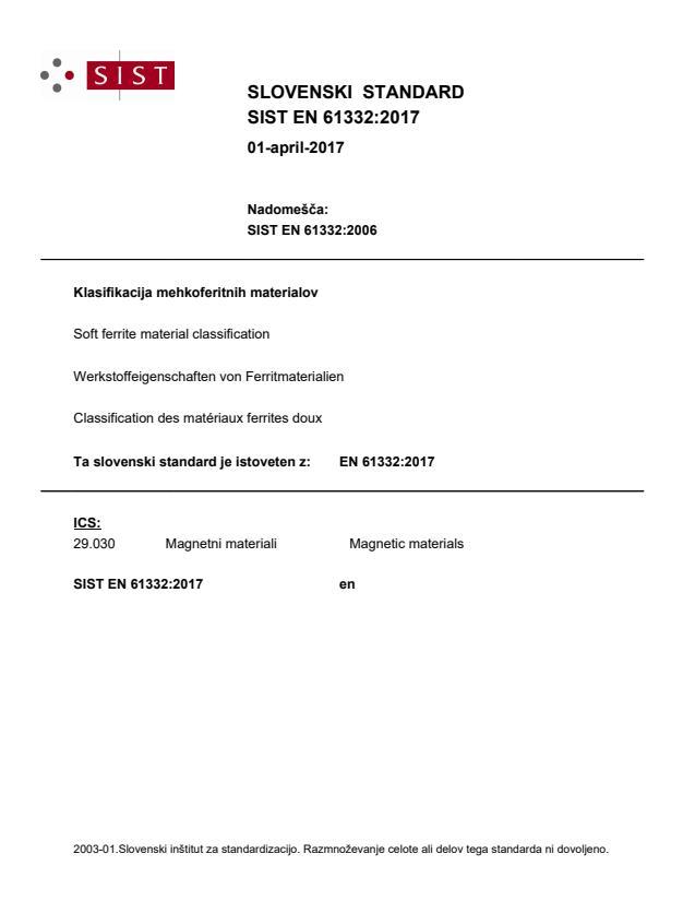 EN 61332:2017