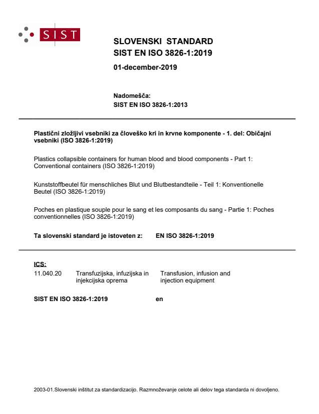 EN ISO 3826-1:2019