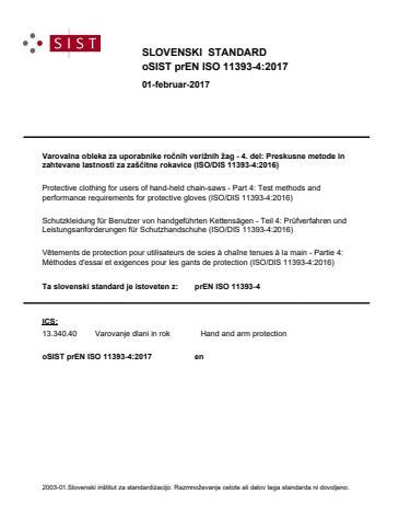 SIST EN ISO 11393-4:2019