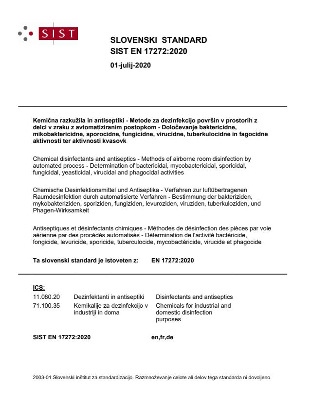 SIST EN 17272:2020 - BARVE na PDF-str 23,24,60,61,62,63,64,65