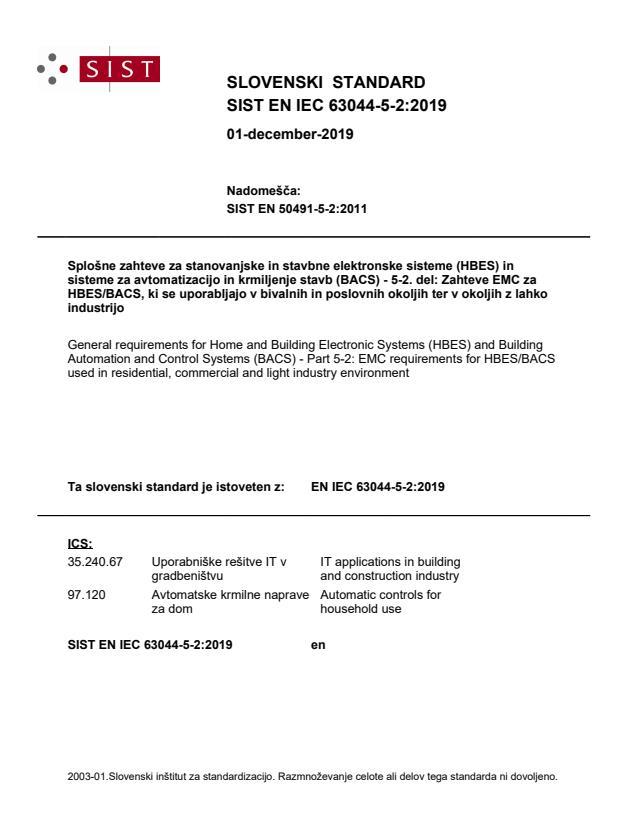 EN IEC 63044-5-2:2019