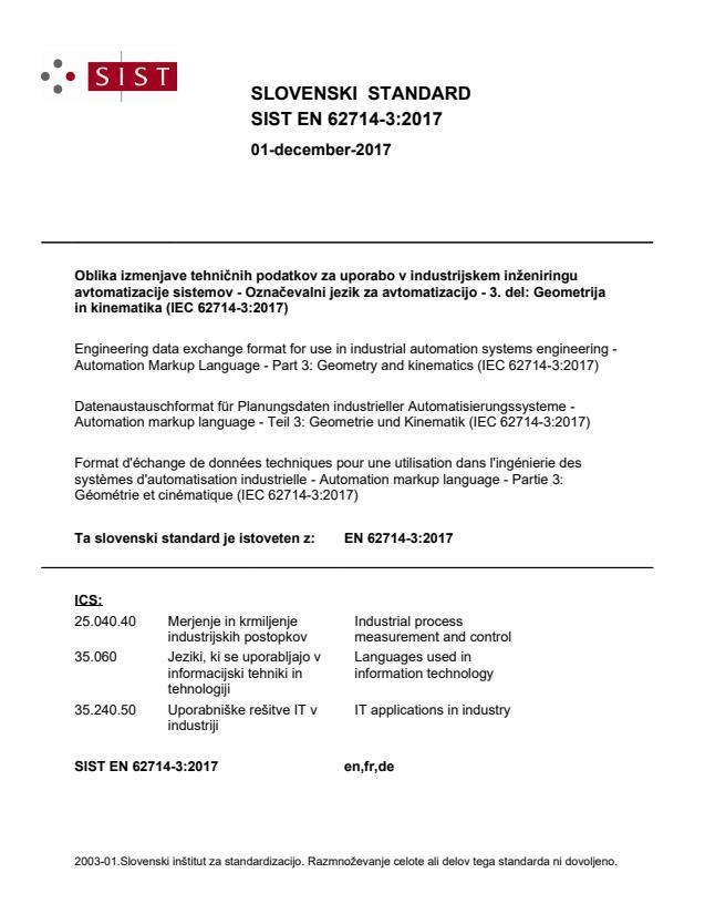 SIST EN 62714-3:2017 - BARVE