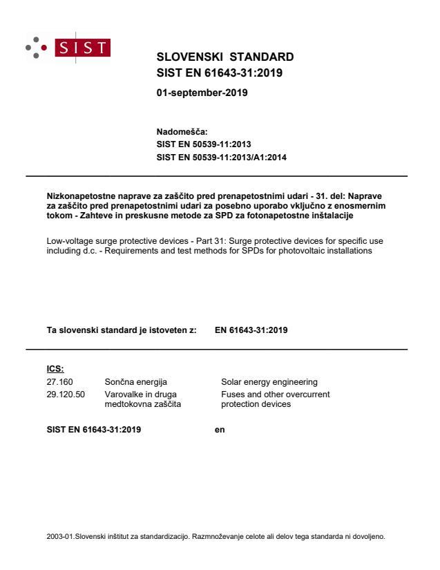 EN 61643-31:2019 - BARVE na PDF-str 63,64,65,66