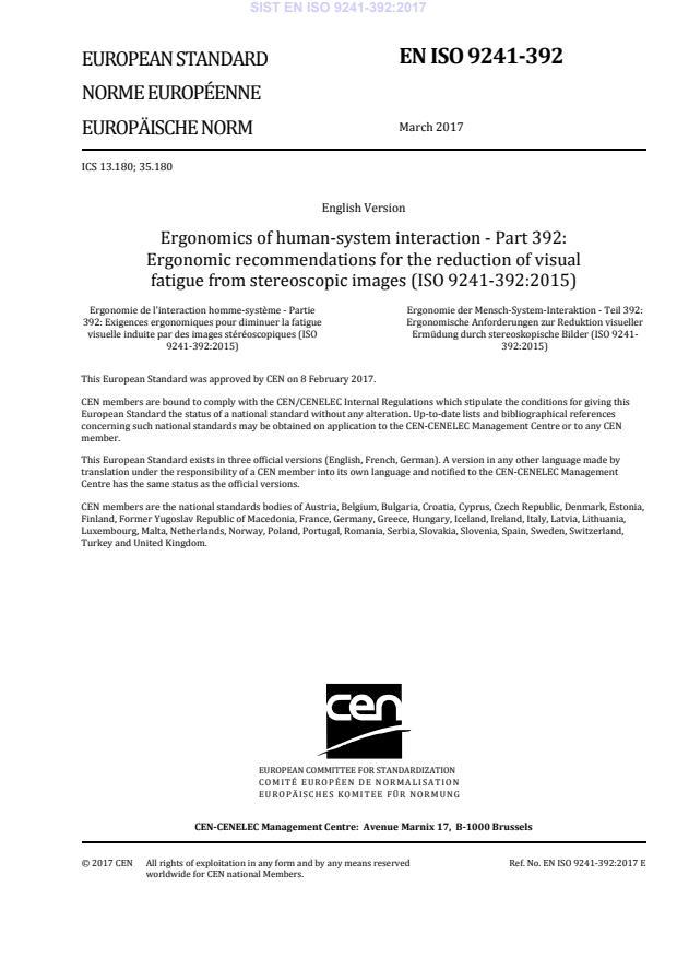 EN ISO 9241-392:2017