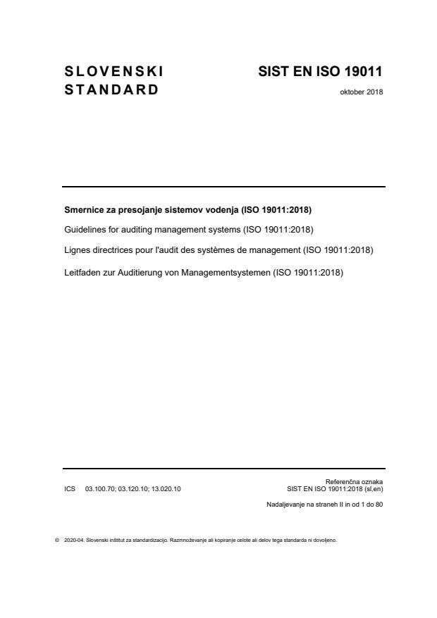EN ISO 19011:2018