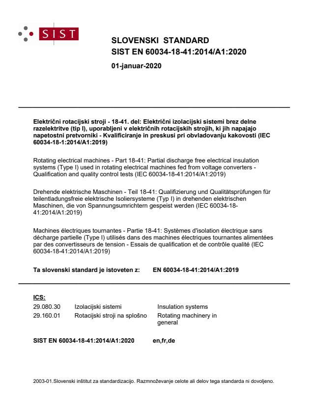 SIST EN 60034-18-41:2014/A1:2020