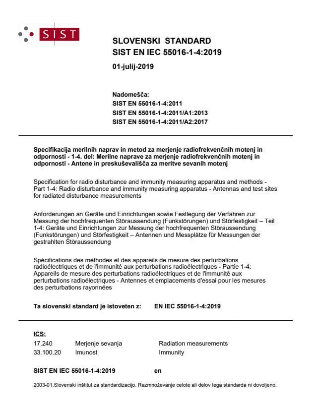 EN IEC 55016-1-4:2019 - BARVE na PDF-str 66