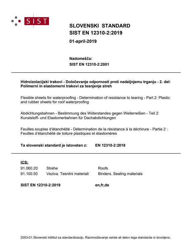 SIST EN 12310-2:2019 - BARVE na PDF-str 10