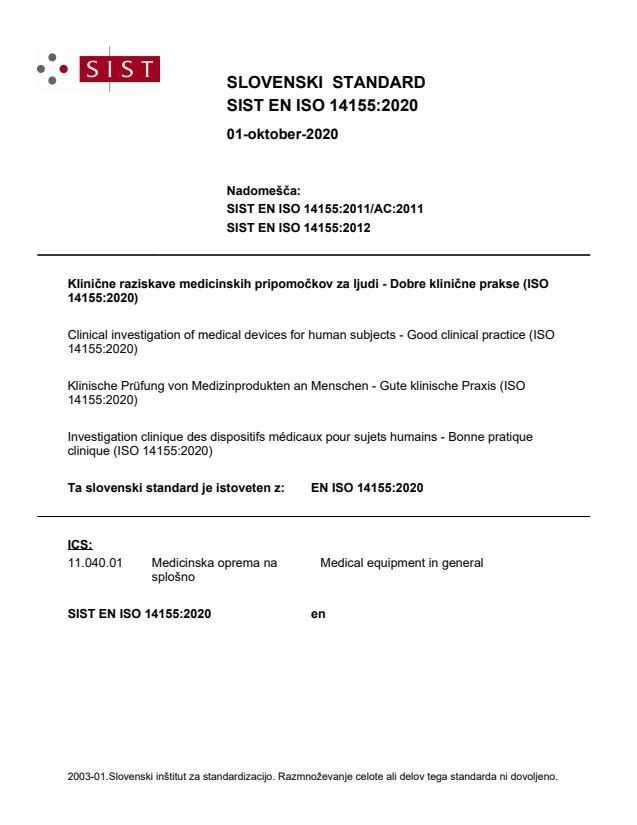 EN ISO 14155:2020 - BARVE na PDF-str 90