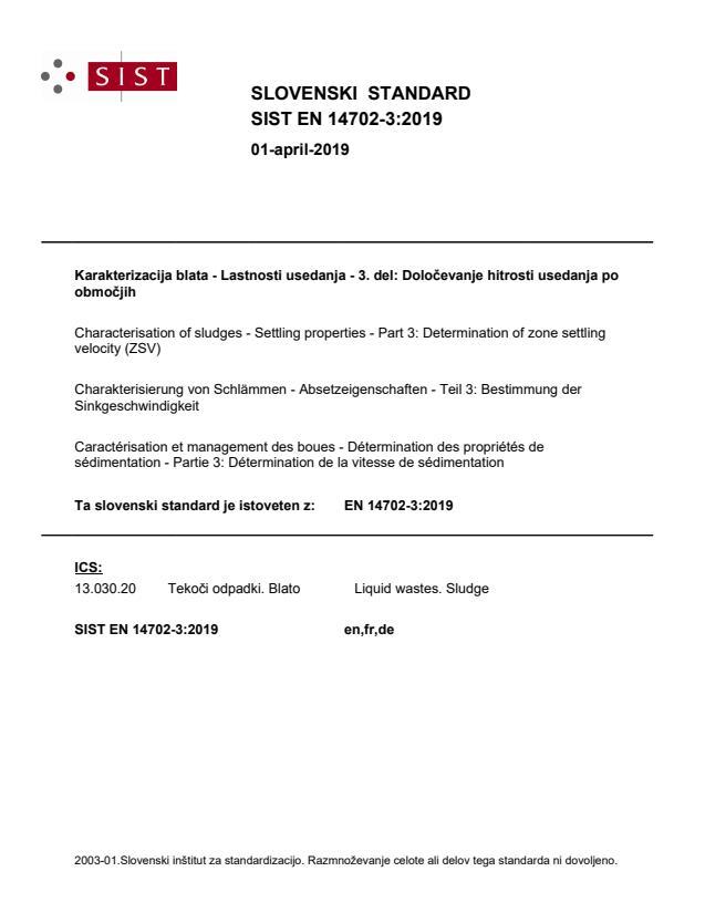 EN 14702-3:2019 - BARVE na PDF-str 11,14,15,17