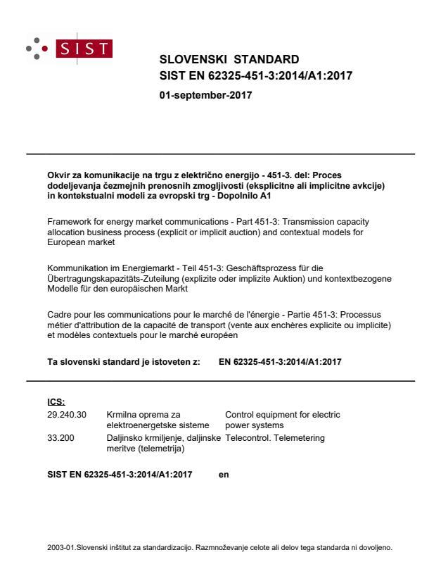 SIST EN 62325-451-3:2014/A1:2017 - BARVE