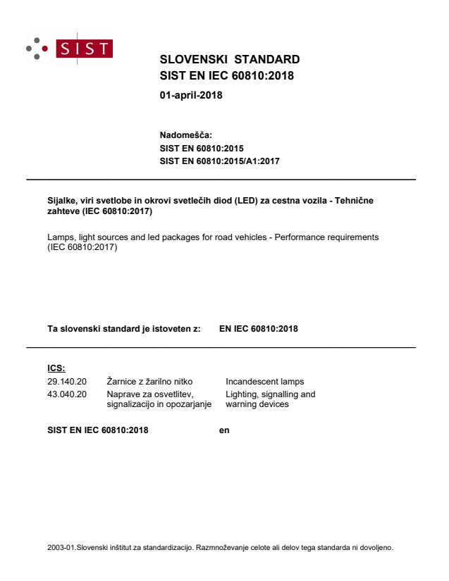 EN IEC 60810:2018