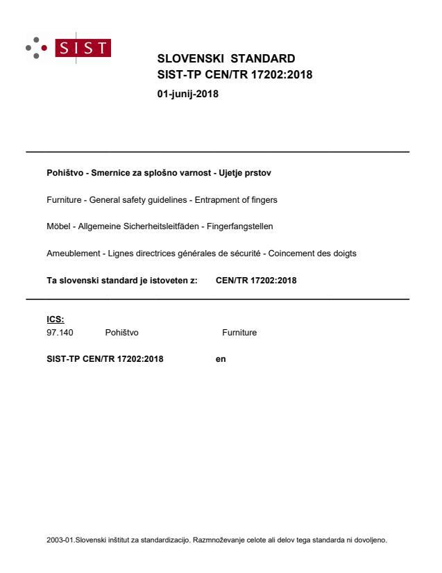 SIST-TP CEN/TR 17202:2018