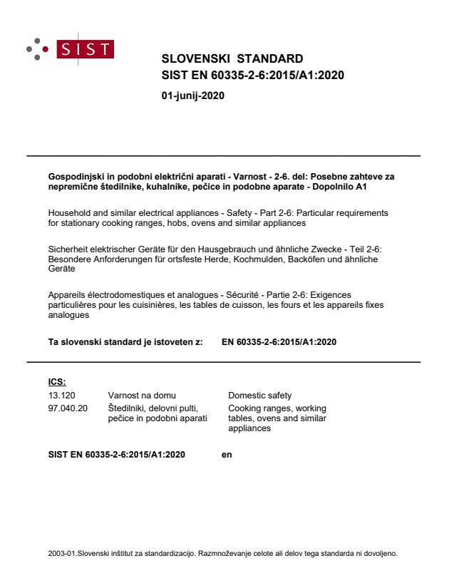 EN 60335-2-6:2015/A1:2020