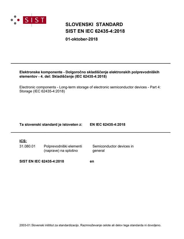 SIST EN IEC 62435-4:2018