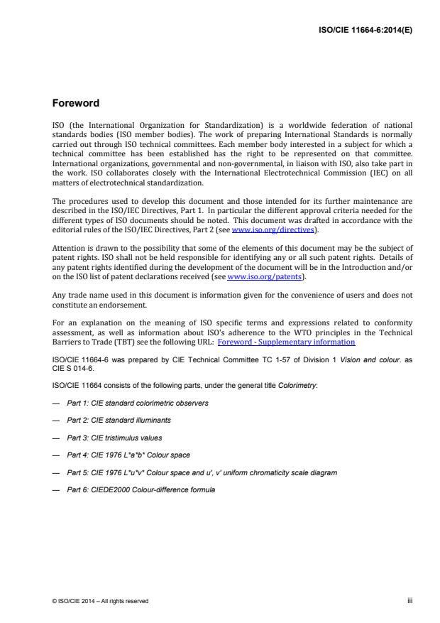 ISO/CIE 11664-6:2014 - Colorimetry