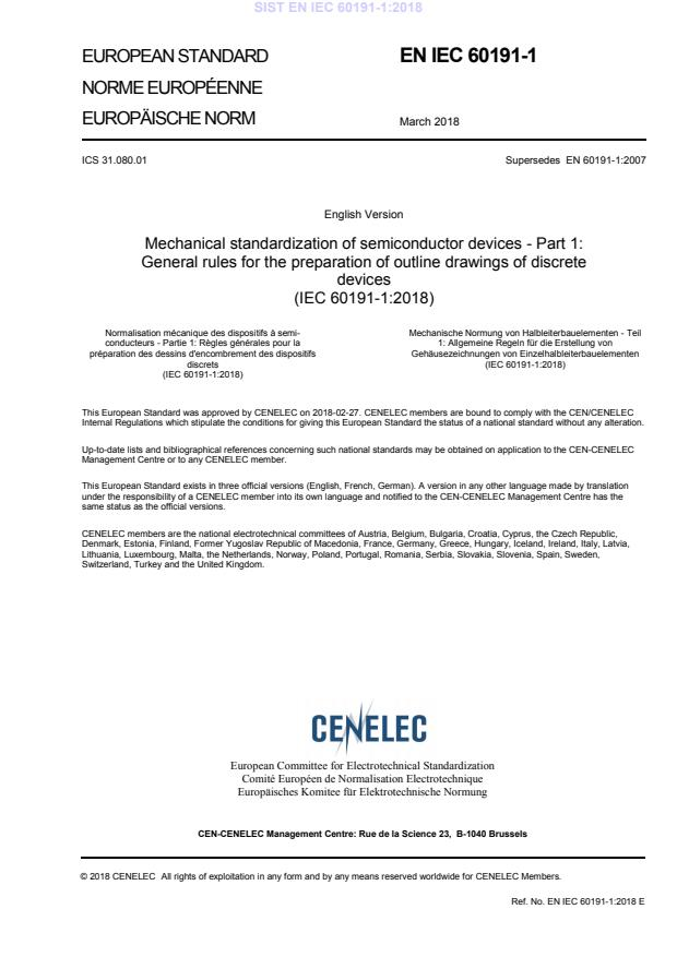SIST EN IEC 60191-1:2018